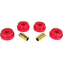14-101 Subframe Bushing - Red, Polyurethane, Direct Fit, Set of 4