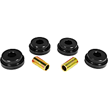 14-101-BL Subframe Bushing - Black, Polyurethane, Direct Fit, Set of 4