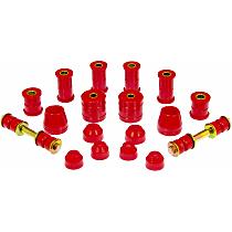 14-2003 Master Bushing Kit - Red, Polyurethane, Direct Fit, Kit