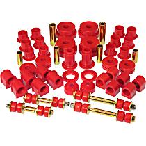 14-2004 Master Bushing Kit - Red, Polyurethane, Direct Fit, Kit