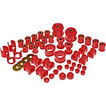 14-2005 Master Bushing Kit - Red, Polyurethane, Direct Fit, Kit