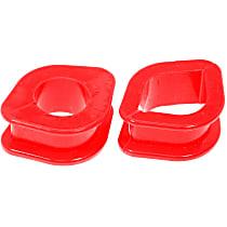 14-704 Steering Rack Bushing - Red, Polyurethane, Direct Fit, Set of 3