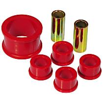 14-706 Steering Rack Bushing - Red, Polyurethane, Direct Fit, Set of 5