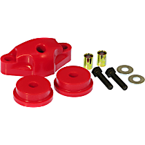16-1602 Shifter Bushing - Red, Polyurethane, Direct Fit, Set of 3