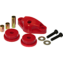 16-1603 Shifter Bushing - Red, Polyurethane, Direct Fit, Set of 3