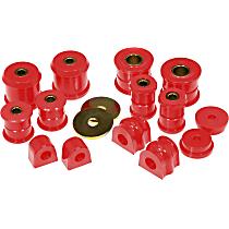 16-2001 Master Bushing Kit - Red, Polyurethane, Direct Fit, Kit