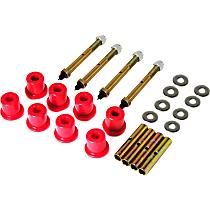 1-814 Shackle Bushing - Red, Polyurethane, Direct Fit