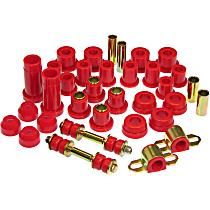 18-2004 Master Bushing Kit - Red, Polyurethane, Direct Fit, Kit