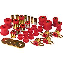 18-2007 Master Bushing Kit - Red, Polyurethane, Direct Fit, Kit