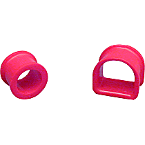 18-702 Steering Rack Bushing - Red, Polyurethane, Direct Fit, Set of 2