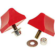 Bump Stop - Red, Polyurethane, Universal, Set of 2