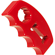 19-1404 Jack Handle Holder - Red, Polyurethane, Universal