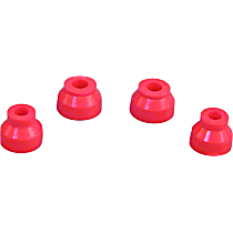 Ball Joint Boot - Red, Polyurethane, Direct Fit