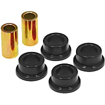 19-908-BL Shock Bushing - Black, Polyurethane, Universal, Set of 2