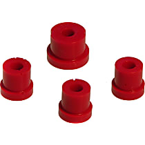 4-1605 Shifter Bushing - Red, Polyurethane, Direct Fit, Set of 4