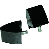 6-1303-BL Bump Stop - Black, Polyurethane, Direct Fit, Set of 2