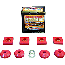 Prothane 6-1601 Transfer Case Mount - Red, Polyurethane, Direct Fit