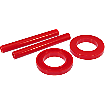 6-1703 Coil Spring Insulator - Red, Polyurethane, Direct Fit, Set of 4