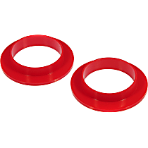 6-1704 Coil Spring Insulator - Red, Polyurethane, Direct Fit, Set of 2