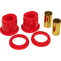 6-604 Axle Pivot Bushing - Red, Polyurethane, Direct Fit