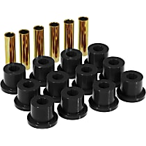 7-1001-BL Leaf Spring Bushing - Black, Polyurethane, Direct Fit, Kit