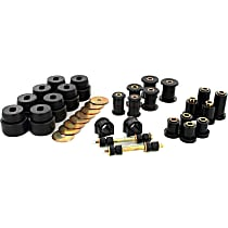 Prothane 7-2046-BL Master Bushing Kit - Black, Polyurethane, Direct Fit, Kit
