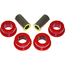 7-302 Track Rod Bushing - Red, Polyurethane, Direct Fit
