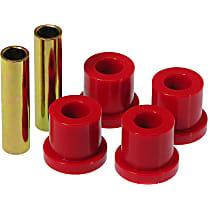 Shackle Bushing - Red, Polyurethane, Direct Fit