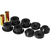 Prothane 8-901-BL Shock Bushing - Black, Polyurethane, Direct Fit, Set of 8