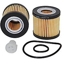 L16160 Oil Filter - Cartridge, Direct Fit, Sold individually