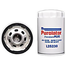 L25230 Oil Filter - Spin-on, Direct Fit, Sold individually