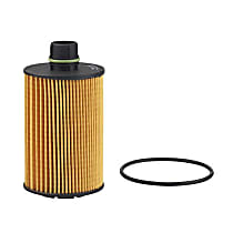 L38157 Oil Filter - Cartridge, Direct Fit, Sold individually
