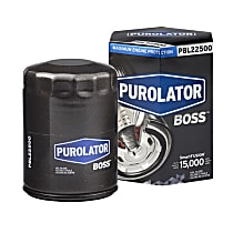 PBL22500 Oil Filter - Spin-on, Direct Fit, Sold individually