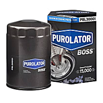 PBL30001 Oil Filter - Spin-on, Direct Fit, Sold individually