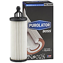 PBL36296 Oil Filter - Cartridge, Direct Fit, Sold individually