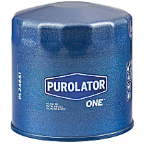 Purolator PL24651 Oil Filter - Canister, Direct Fit, Sold individually