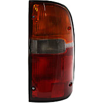 CAPA Certified Passenger Side Tail Light, With bulb(s)