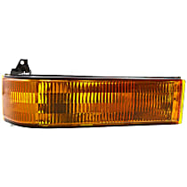 Passenger Side Turn Signal Light, Without bulb(s)