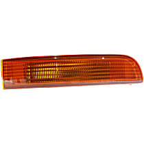 Passenger Side, On Bumper Turn Signal Light, Without bulb(s)