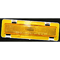 Front, Passenger Side Side Marker, Without bulb(s)