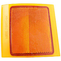 ReplaceXL Reflector - 18-3190-01Q - Front, Driver Side, Upper, Direct Fit