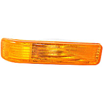 Passenger Side Parking Light, Without bulb(s)