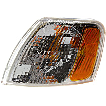 CAPA Certified Driver Side Corner Light, With bulb(s)