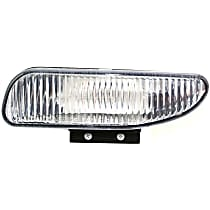 Front, Driver Side Fog Light, Without bulb(s)