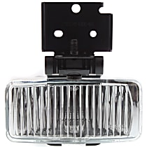 Front, Driver Side Fog Light, With bulb(s)