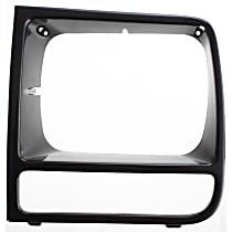 Driver Side Headlight Door, Black
