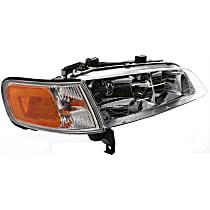 Headlight, Passenger Side, With bulb(s) - w/ Corner Light, CAPA CERTIFIED