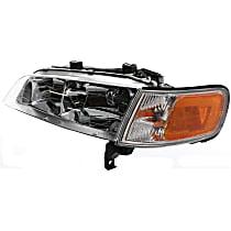Headlight, Driver Side, With bulb(s) - w/ Corner Light, CAPA CERTIFIED