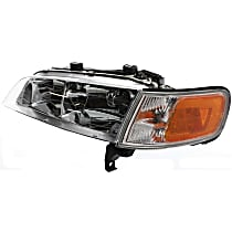 Headlight, Driver Side, With bulb(s) - w/ Corner Light, CAPA CERTIFIED