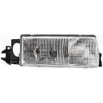 Passenger Side Headlight, With bulb(s) - Clear Lens